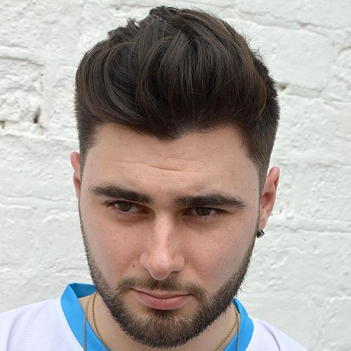 Best Hairstyles For Men With Round Faces | Men\'s Hairstyles + ...
