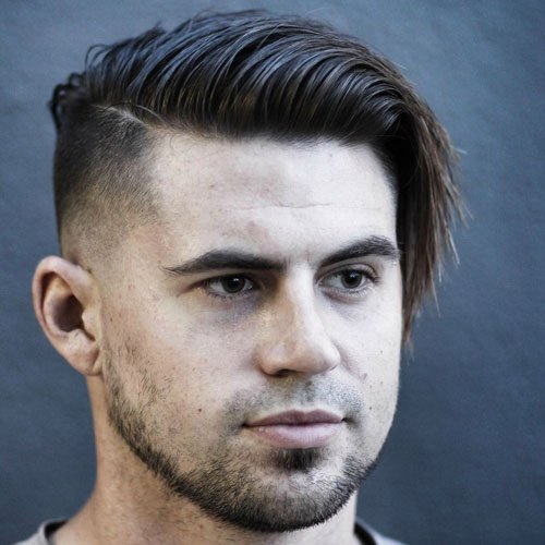 Haircuts For Round Faces Men