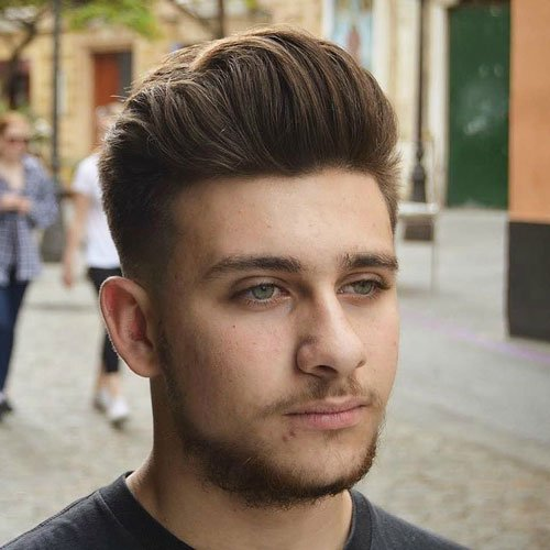 Best Hairstyles For Men With Round Faces  Men\u002639;s Hairstyles   Haircuts 2019