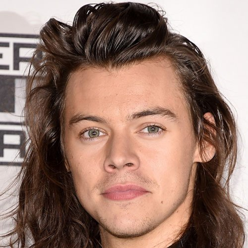 Harry Styles Straight Hair