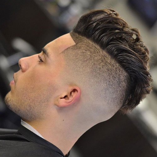 High Fade Pomp-Hawk