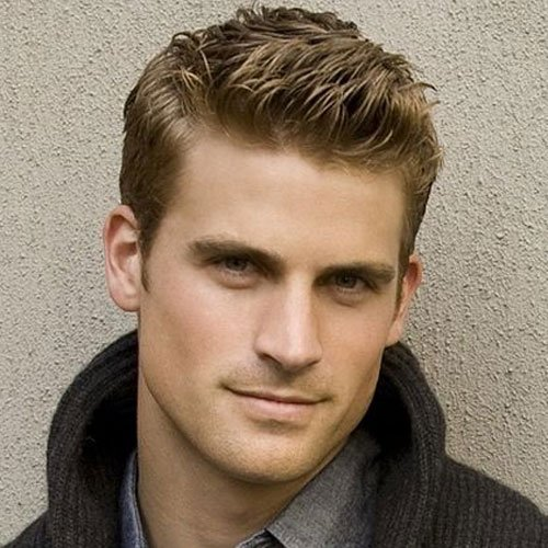 Ivy League Haircut  A Classy Crew Cut Mens Hairstyles - Comb Over Hairstyle