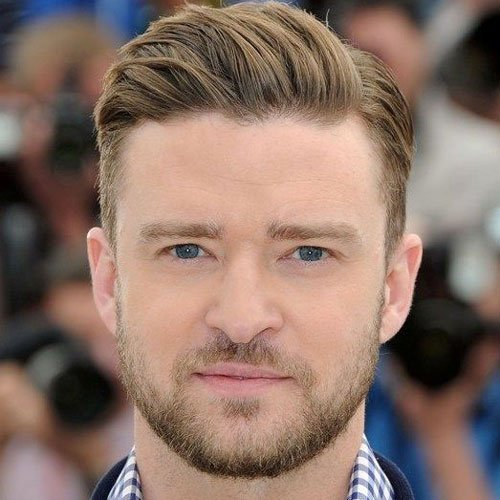 Justin Timberlake Comb Over
