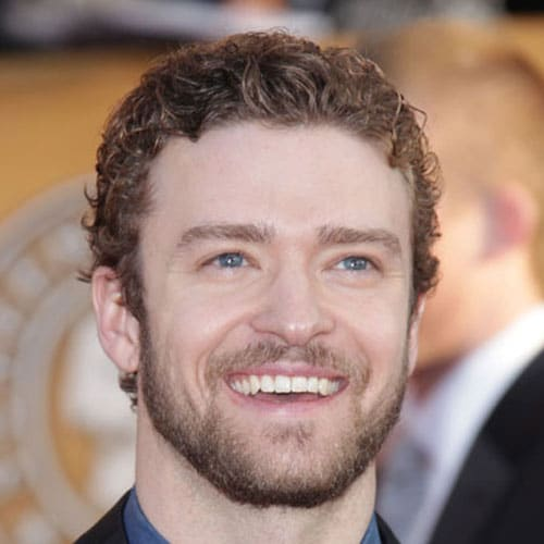 Justin Timberlake Long Hair