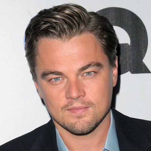 Leonardo DiCaprio Haircut - Side Parted Hair
