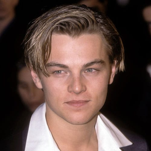 Leonardo DiCaprio Hairstyle - Long Hair As Kid