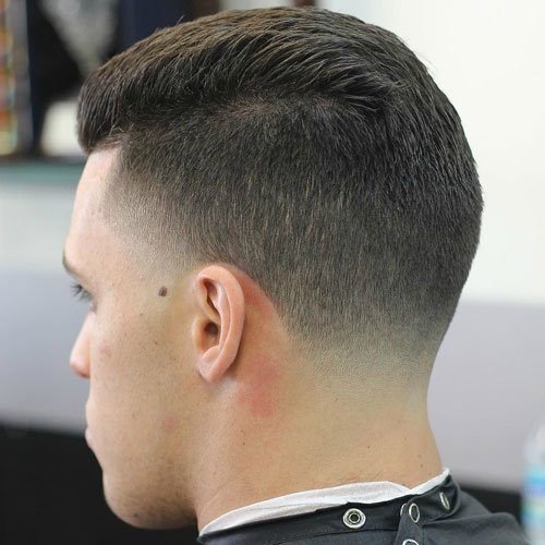 Low Taper Fade with Short Top