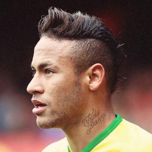 Neymar Hair - Mohawk Hairstyle
