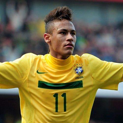 Neymar Hairstyle - Mohawk