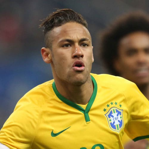 Neymar Jr Hairstyles