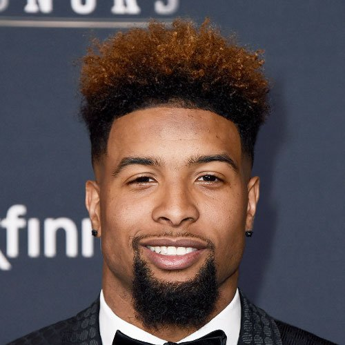 Odell Beckham Jr Haircut Mens Hairstyles + Haircuts 2017 - Hairstyles For Curly Hair Men
