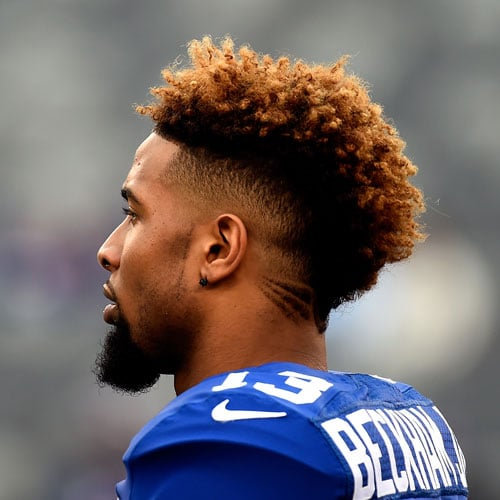 odell beckham jr haircut. Black Bedroom Furniture Sets. Home Design Ideas