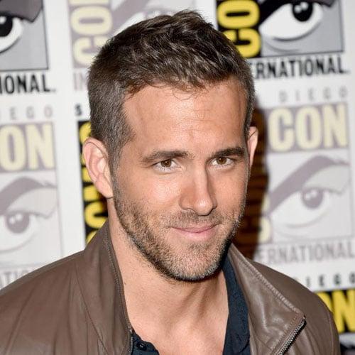 Ryan Reynolds Haircut - Crew Cut