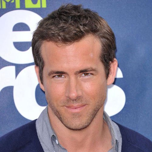 Ryan Reynolds Hairstyles