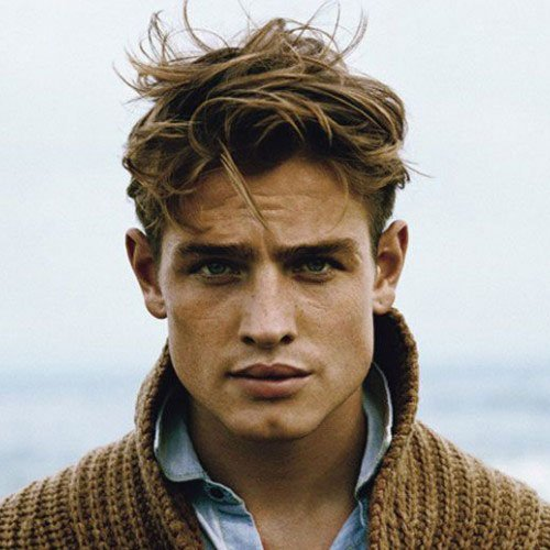 Good Haircuts For Men Short Sides With Tousled Hair