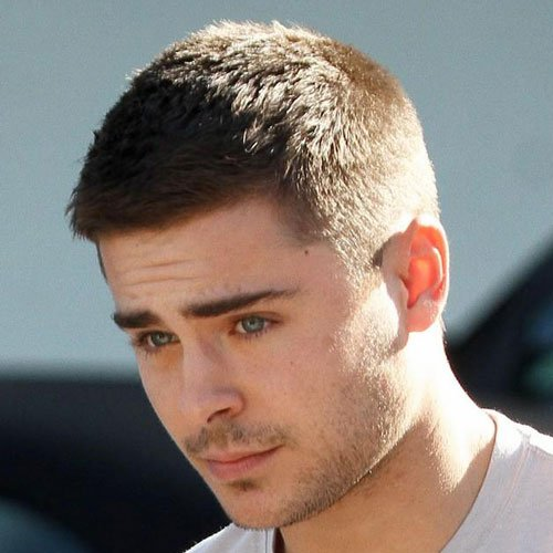 mens haircuts buzz cut zac efron hairstyles 3837