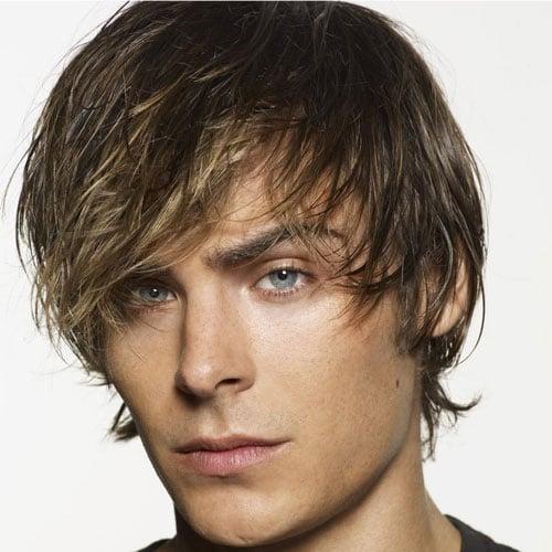 Zac Efron Messy Hair