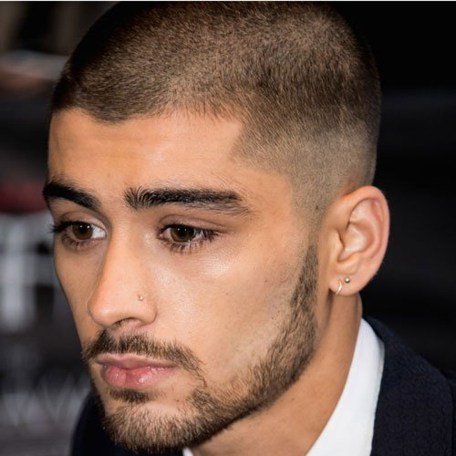 Zayn Malik Haircut - Buzz Cut