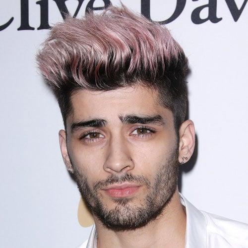 Zayn Malik Long Hairstyles