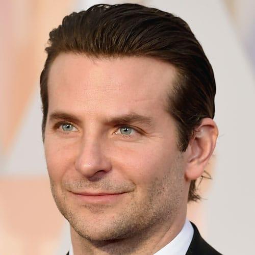 Bradley Cooper Slicked Back Haircut