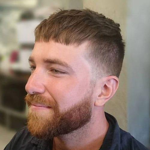Light Caesar Cut Haircut