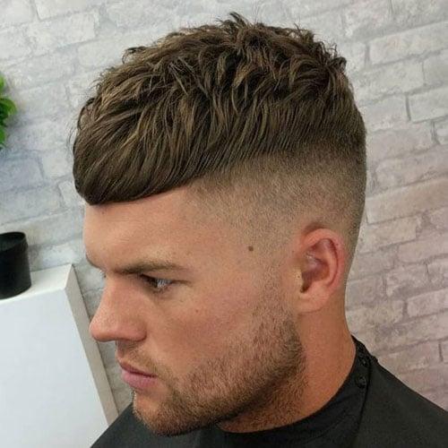 Cool Caesar Fade Haircut Styles