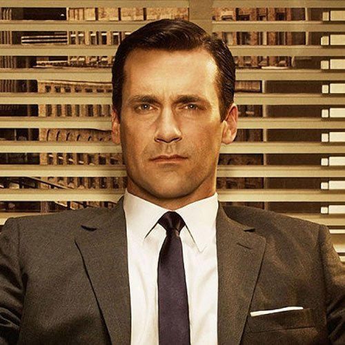 Don Draper Hairstyles Side Part
