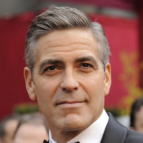 The Best George Clooney Haircuts Hairstyles 2021 Update