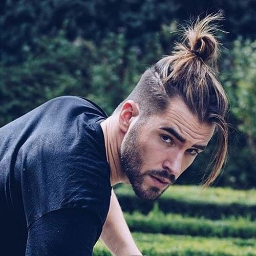 Growing A Man Bun