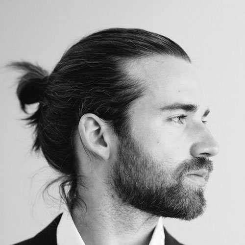 Hot Man Bun Hairstyles