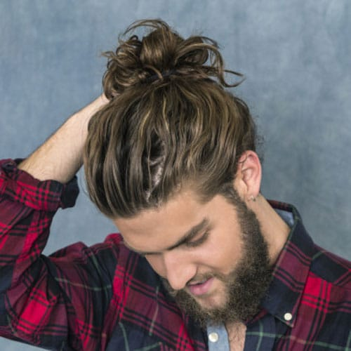 How To Get A Man Bun Hairstyle