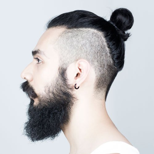 Men S Top Knot Hairstyles Men S Hairstyles Haircuts 2020
