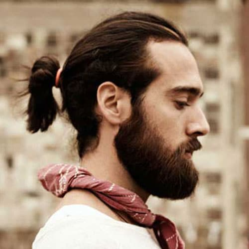 Male Ponytail