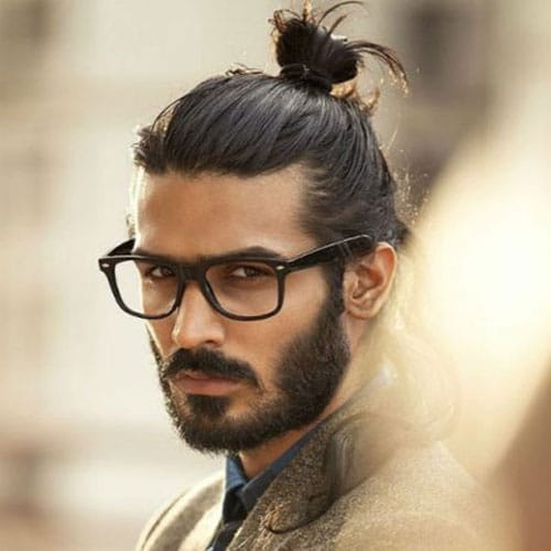 Man Bun Hairstyles For Guys
