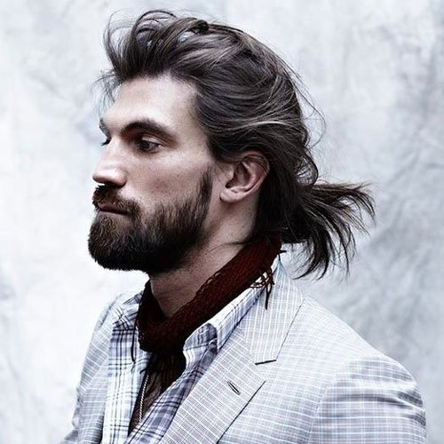 Man Bun - Long Hairstyles For Men