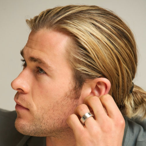 Superb The Man Ponytail Ponytail Styles For Men Men39S Hairstyles And Short Hairstyles For Black Women Fulllsitofus
