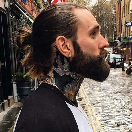 Manly Haircuts and Beards | Men's Hairstyles + Haircuts 2020