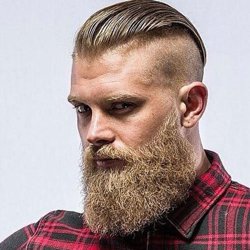 Manly Haircuts and Beards | Men's Hairstyles + Haircuts 2017