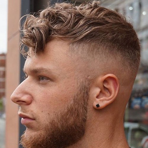 Masculine ear piercings