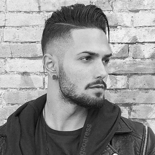 Pleasant Manly Haircuts And Beards Men39S Hairstyles And Haircuts 2017 Short Hairstyles Gunalazisus