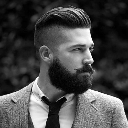 Manly Haircuts and Beards - Mens Hairstyles and Haircuts 2017
