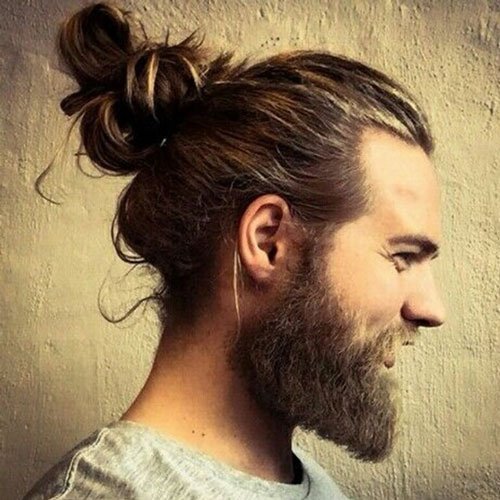 Men Hair Bun