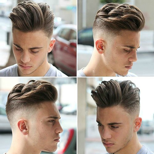 Men's Hairstyles For Oval Faces | Men's Hairstyles + Haircuts 2017