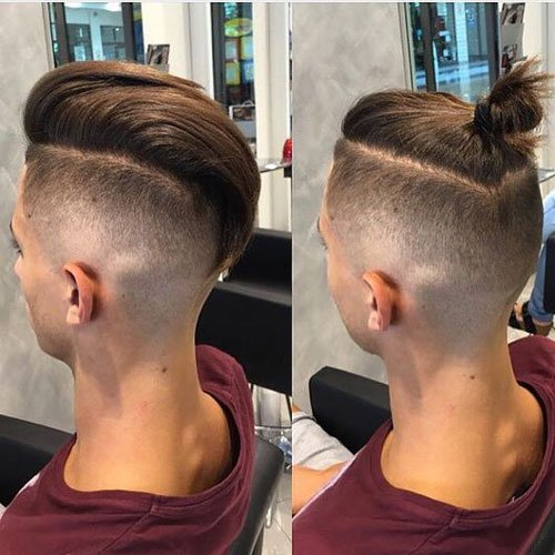Men S Top Knot Hairstyles Men S Hairstyles Haircuts 2017