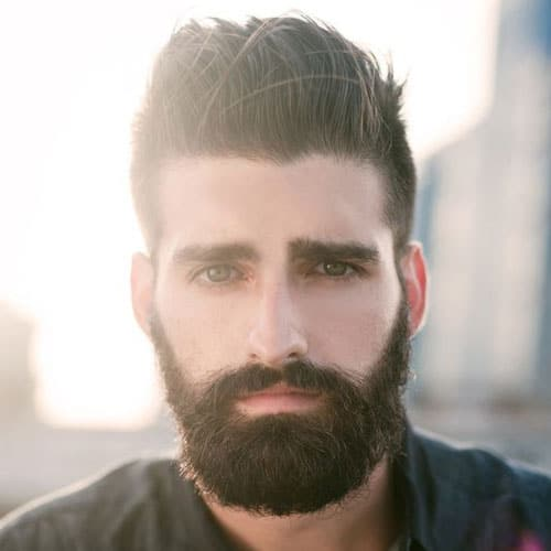 Men's Hairstyles For Oval Faces