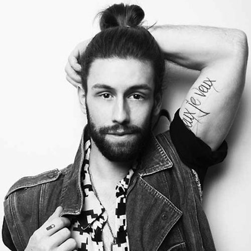 Pleasing The Man Ponytail Ponytail Styles For Men Men39S Hairstyles And Short Hairstyles Gunalazisus