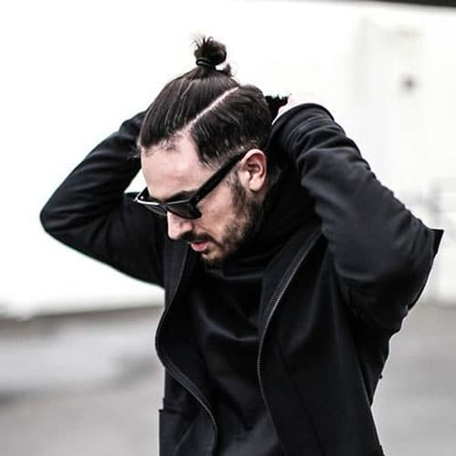 Groovy The Man Ponytail Ponytail Styles For Men Men39S Hairstyles And Short Hairstyles For Black Women Fulllsitofus