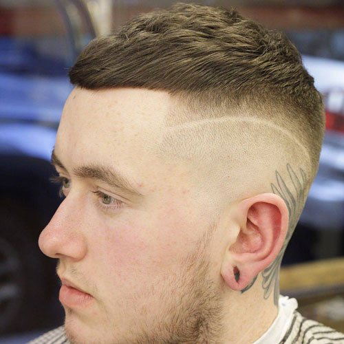 haircut styles for men with short hair 25 hairstyles for 2019 guide 5903 | Really Short Hairstyles For Men