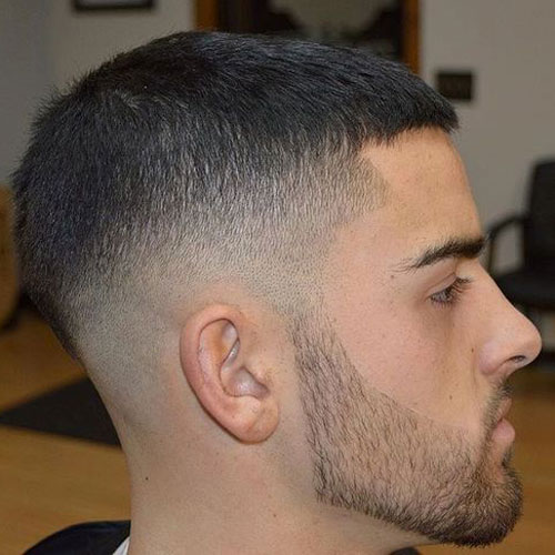 Caesar haircut styles short caesar cut with high fade solutioingenieria Gallery