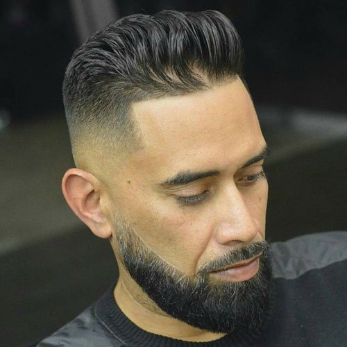 Short Haircuts For Oval Faced Men
